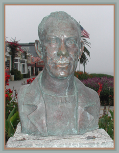 C.W. Brown's Bust of Steinbeck