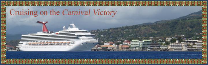 Carnival Victory in Roseau, Dominica